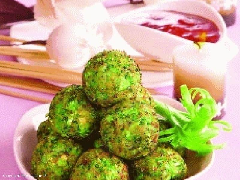 Qofte Brokoli me Djathe