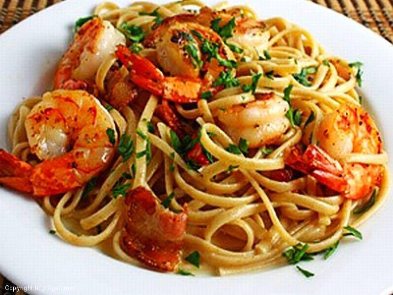 Spaghetti me Karkaleca