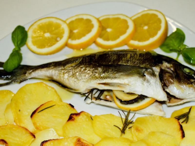 Peshk Koc me Patate