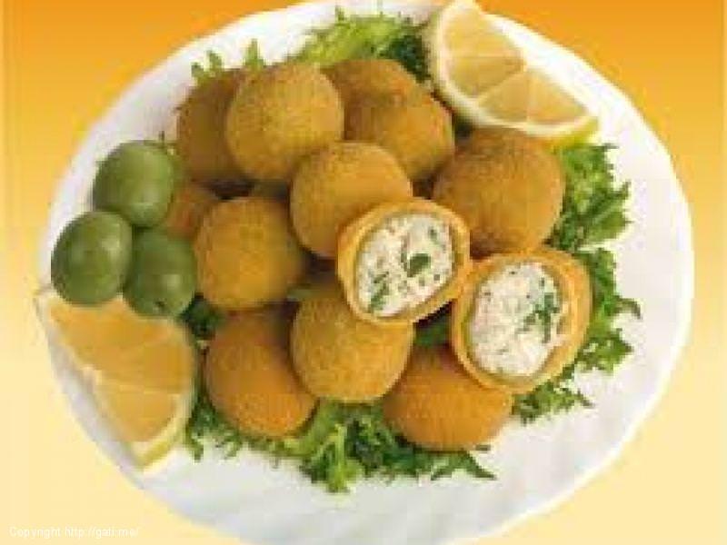 Ullinj të mbushur (Olive all'ascolana)