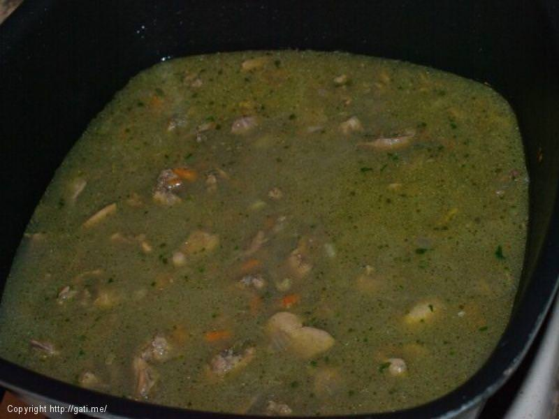Supe orizi me melci pule